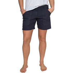 Varg W's Båstad Canvas Shorts Lead Blue